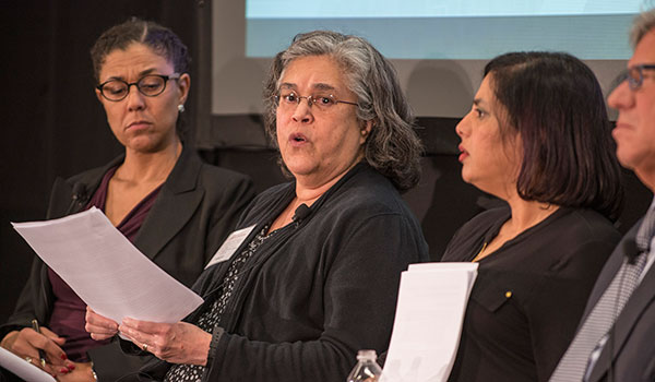 Lorraine M. Gutiérrez, AM '78, Professor of Social Work, University of Michigan School of Social Work, Arthur F. Thurnau Professor, Professor of Psychology, College of Literature, Science, and the Arts