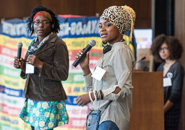 Mother-activists from the US, Brazil, and Colombia shared their struggles and strategies of resistance