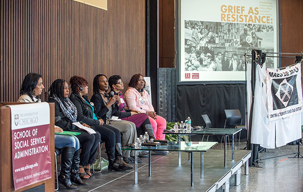 Panelists were Black mothers who have lost children to state violence