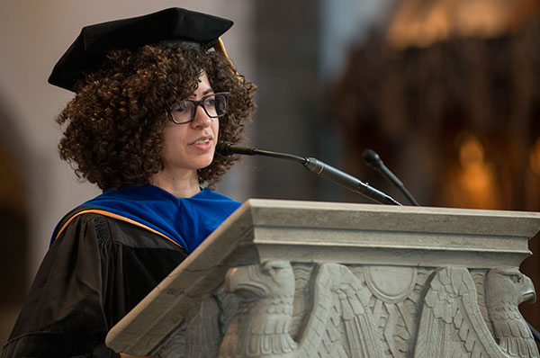 Professor Gonzalez receives the William Pollak Award for Excellence in Teaching