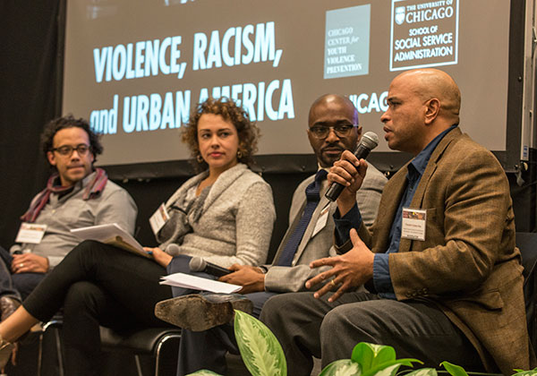 Franklin Cosey-Gay from SSA's Chicago Center for Youth Violence Prevention (CCYVP)