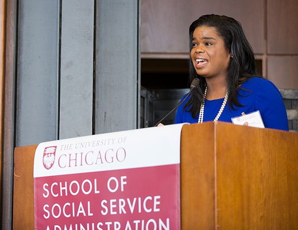 Kimberly Foxx, Former Chief of Staff for Cook County Board President Toni Preckwinkle