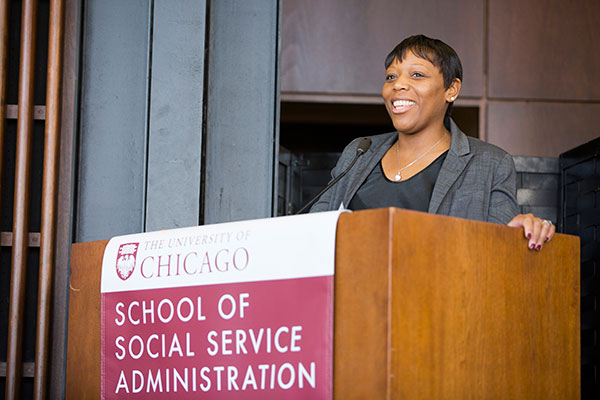 Panelist Nneka Jones Tapia, Executive Director of Cook County Jail