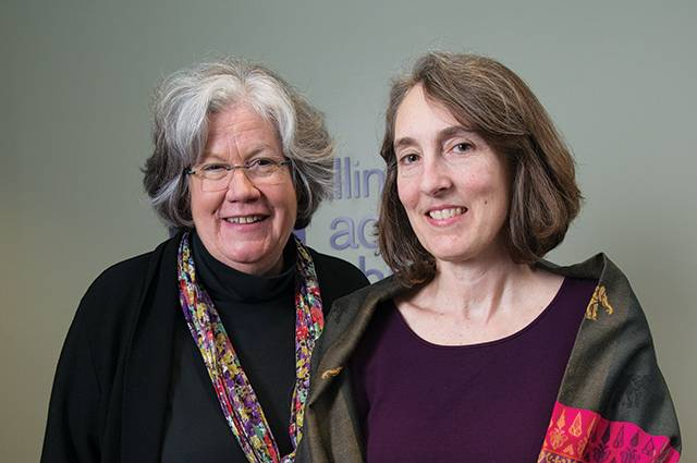 Maria Whelan and Julie Henly