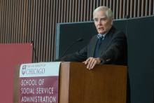 Ron Haskins presented the Michael M. Davis Lecture - Show Me the Evidence: The Obama Administration's Use of Evidence
