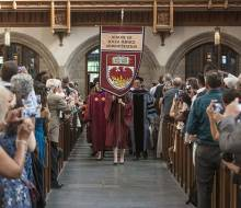 2016 Graduation Hooding Ceremony - Procession into Rockefeller