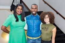 Kimberly Foxx, DeRay Mckesson, and Yanilda Gonzalez