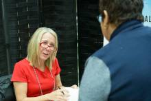 Meg Jay, author of Supernormal: The Untold Story of Adversity and Resilience, book signing