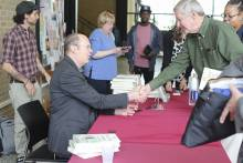 Alex Kotlowitz at book signing