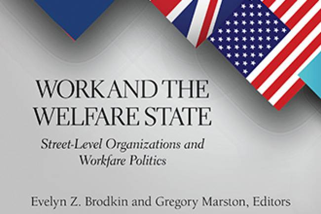 Work and the Welfare State Book