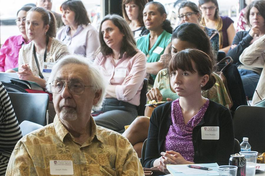 """Audience at the 2013 Ikuo Yamaguchi Memorial Seminar, """"Mental Health and Aging: The Imperative. The Value. The Impact.,"""" presented by Robyn L. Golden"""