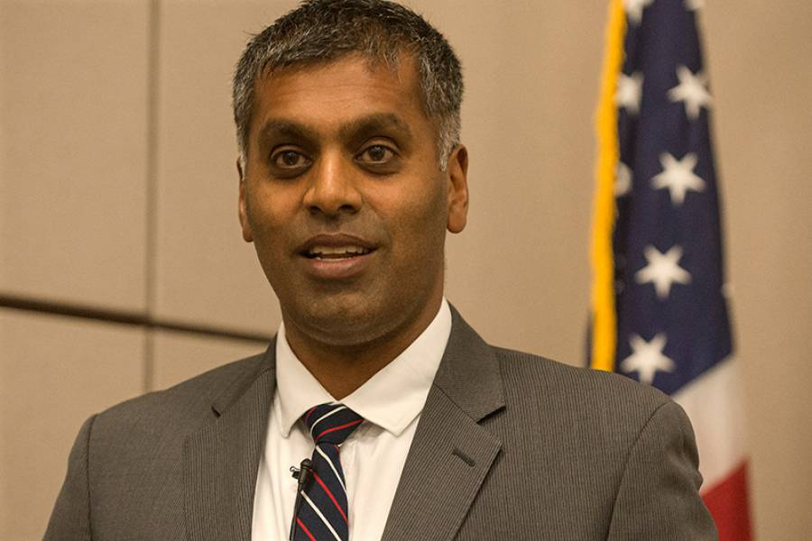 Sudhir Venkatesh at the 2013 Cafferty Lecture