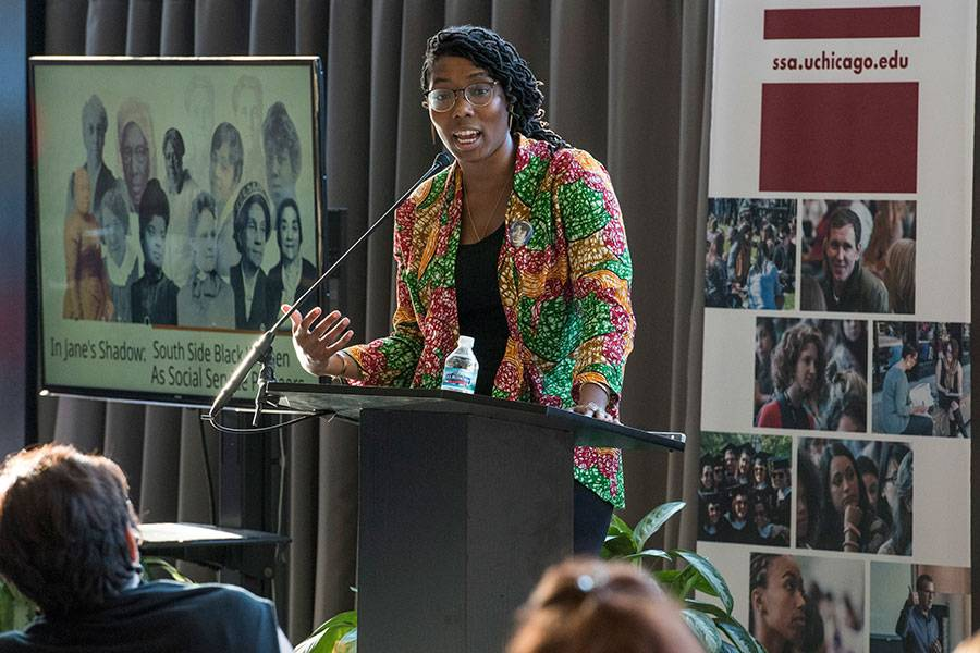 Essence McDowell, co-author of Lifting as They Climbed: Mapping a History of Black Women on Chicago's South Side