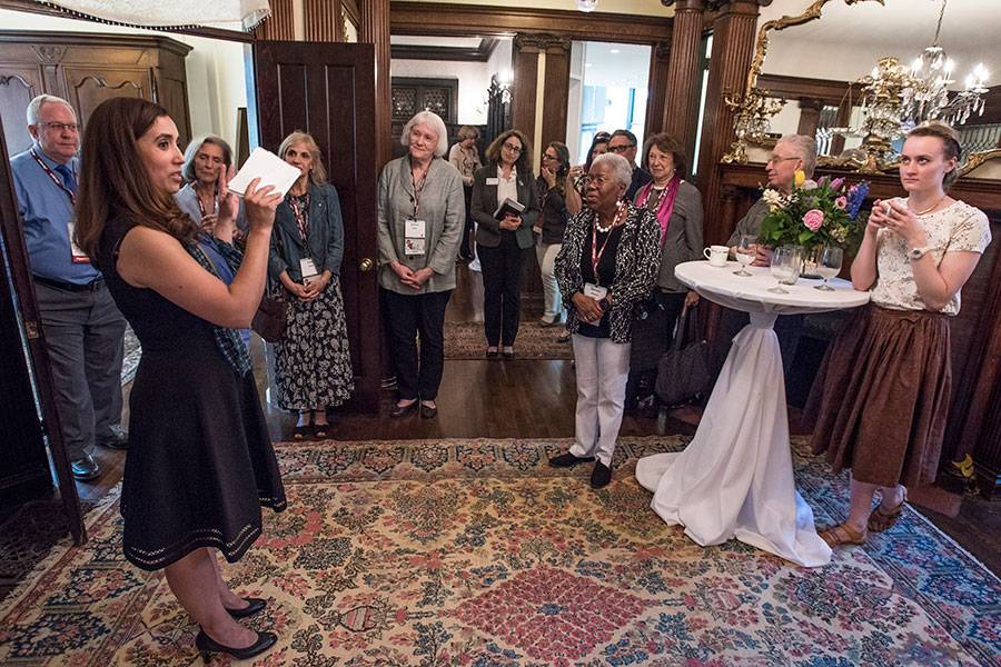 Tour of the home of Edith Abbott
