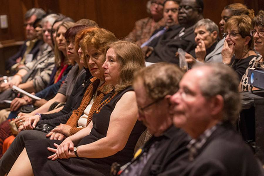 Audience at 2015 Social Justice Address