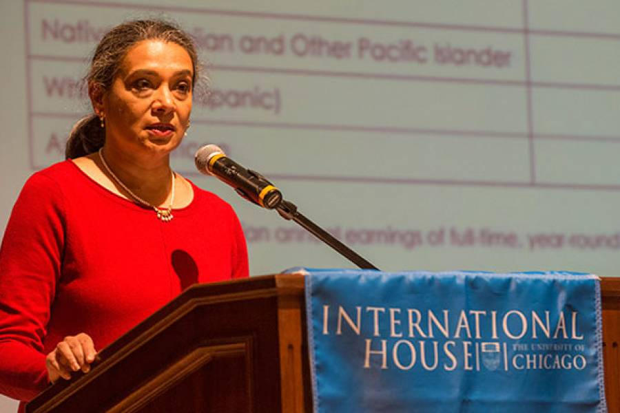 2015 Social Justice Address Given by K. Sujata