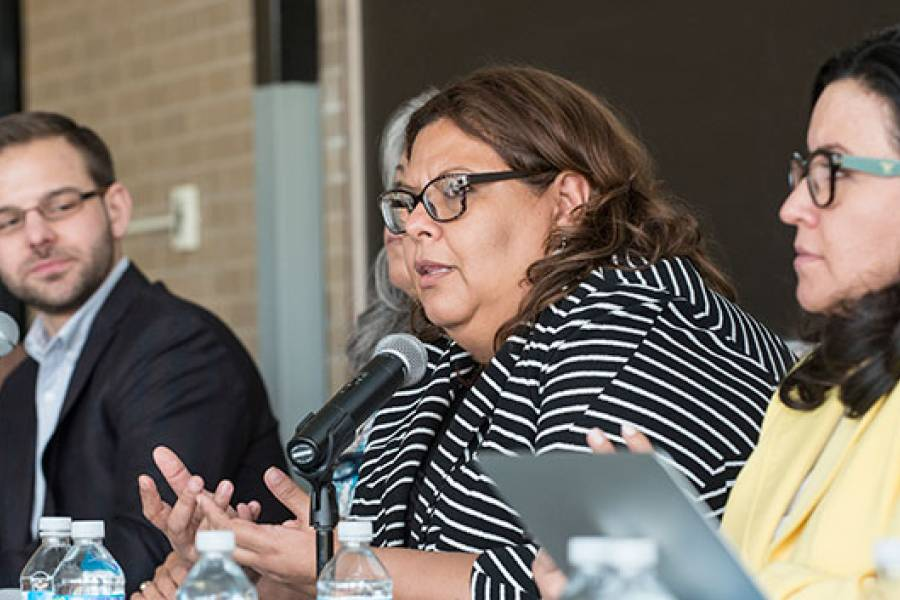 Sandra Pinel, Undersecretary for Integrated Networks and Health Services, Honduran Ministry of Health