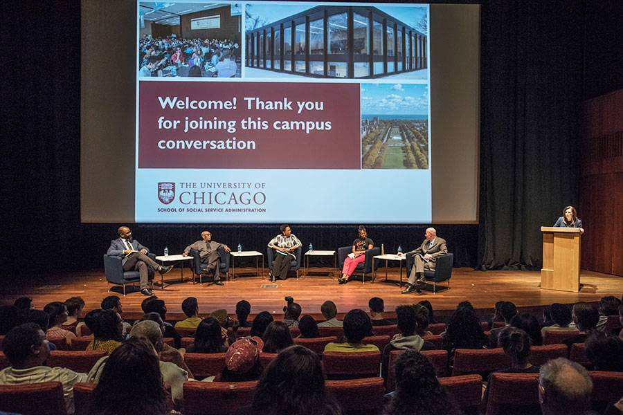 Campus conversation on the Laquan McDonald shooting & Jason Van Dyke murder trial