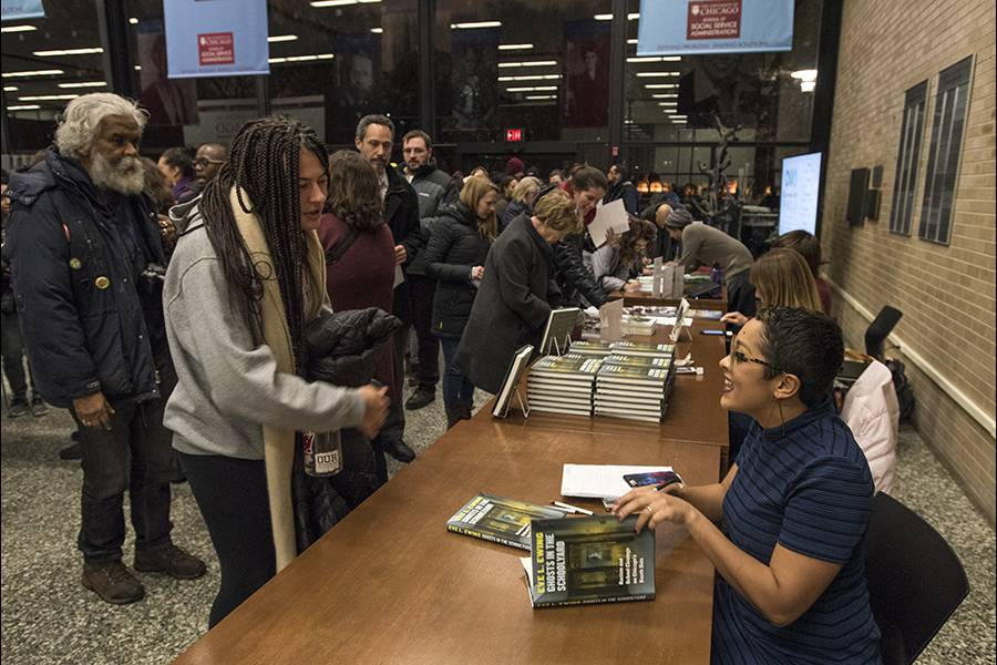 Book Sale and Signing of Eve L. Ewing's Ghost in the Schoolyard: Racism and School Closings on Chicago's South Side