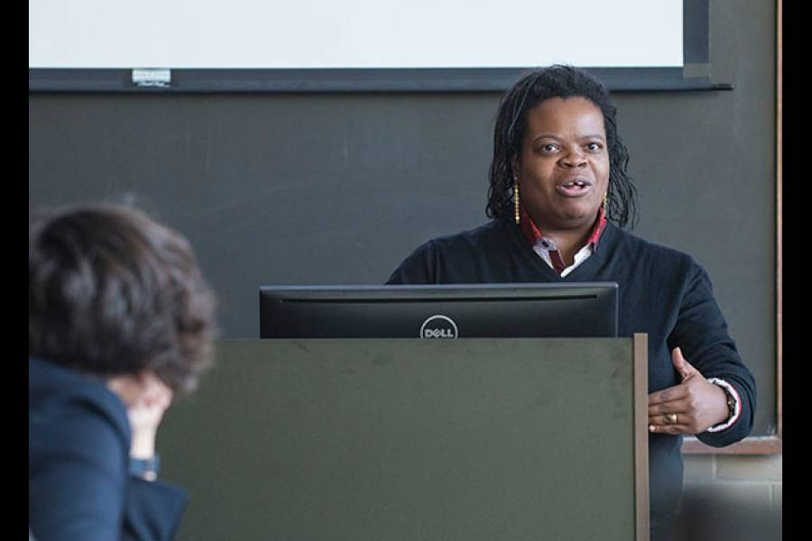 Postdoctoral Scholar Shantá Robinson: Restorative Justice: Toward a new theory for school equity