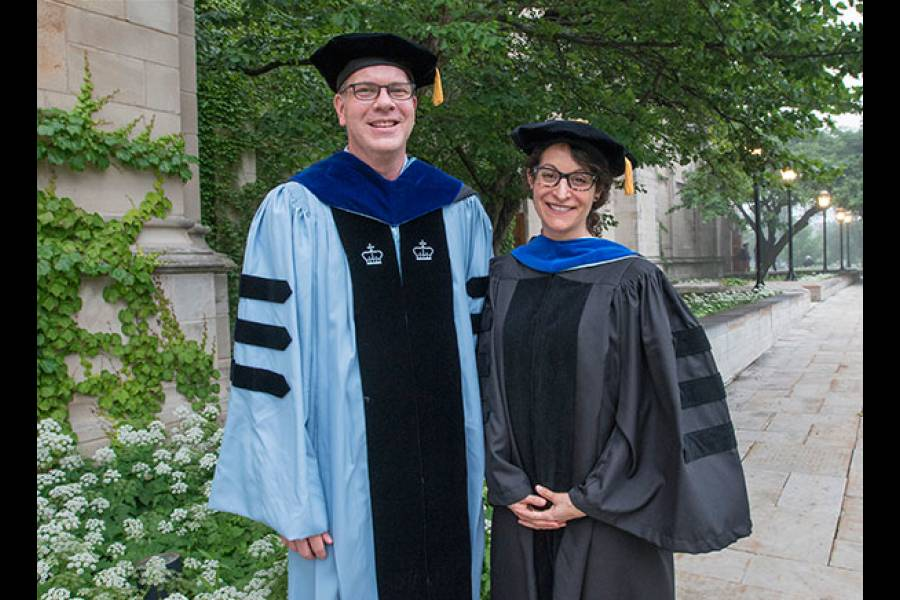 Assistant Professors Matthew Epperson and Alida Bouris