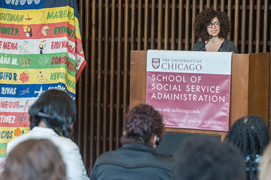 Assistant Professor Yanilda María González organized the event