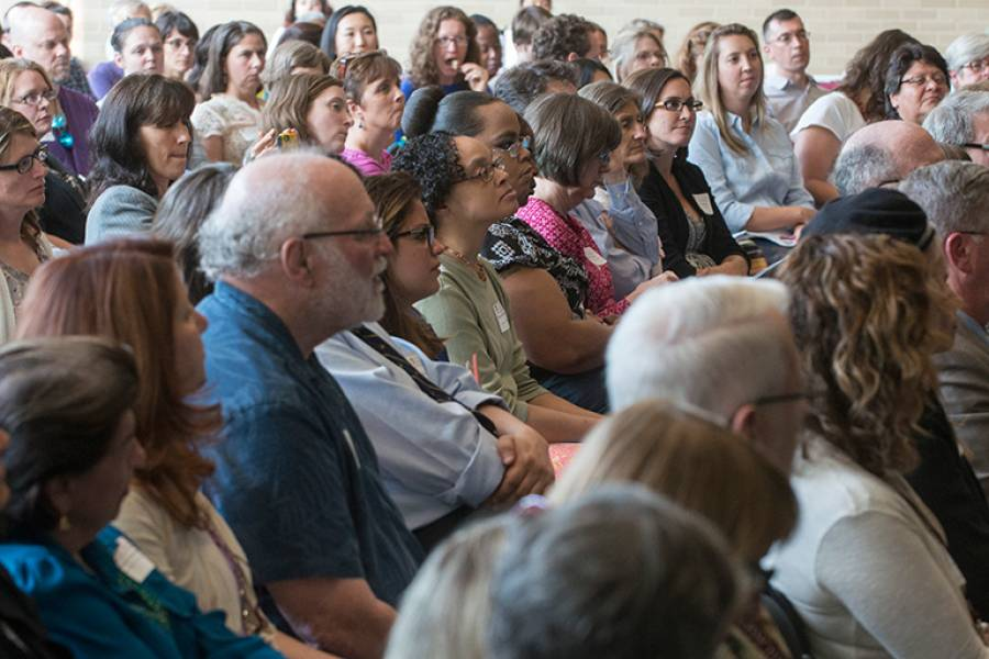 Audience at the 2014 Ruth Knee Lecture on Spirituality and Social Work