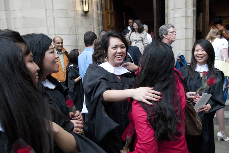 Graduation and Hooding Ceremony 2011