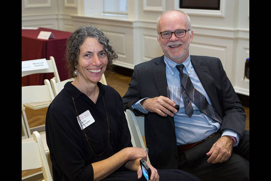 Alumni at 2015 Reunion: Pioneers of the New Social Frontier event