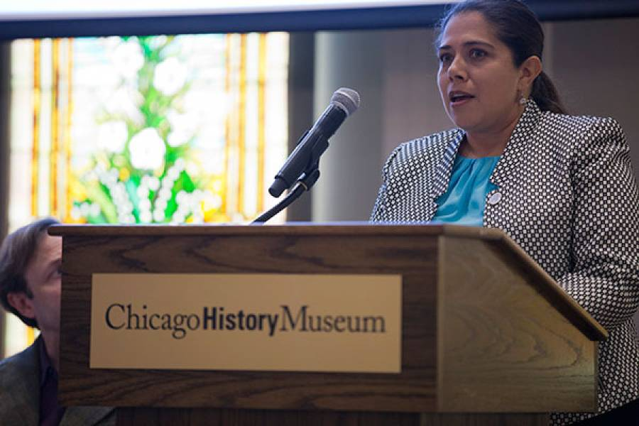 Mariana Osoria, AM '97, Vice President of Centers for Family Focus