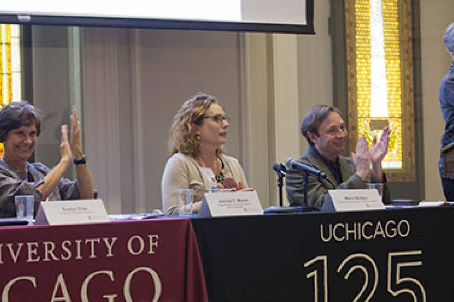Panelists at 2015 Reunion: Pioneers of the New Social Frontier event