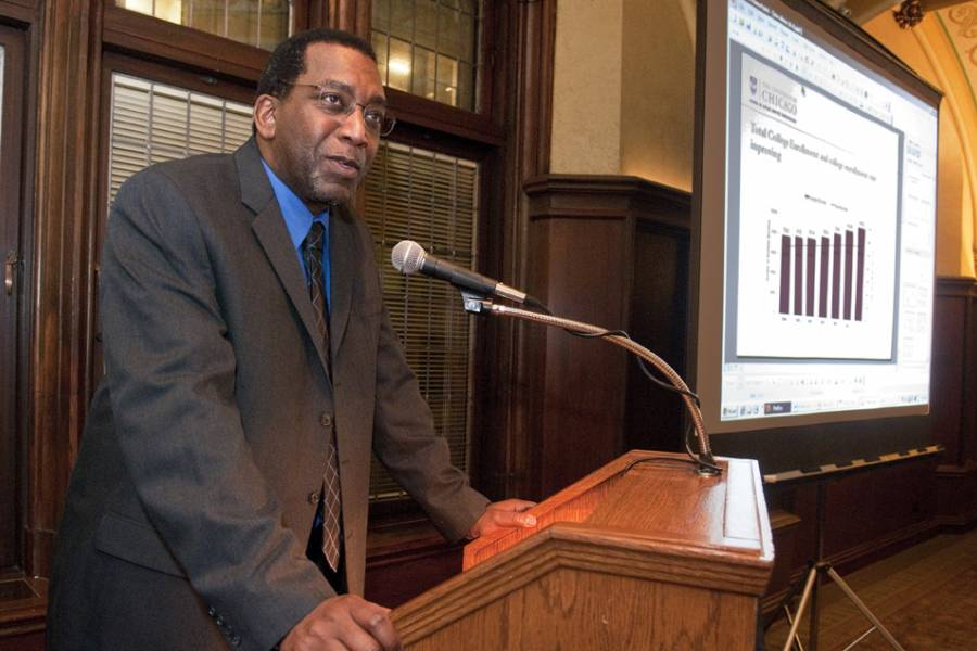 Charles Payne Urban Education Talk at University Club