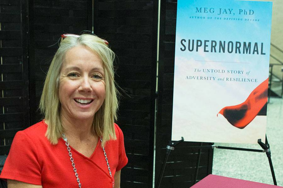 Meg Jay, author of Supernormal: The Untold Story of Adversity and Resilience