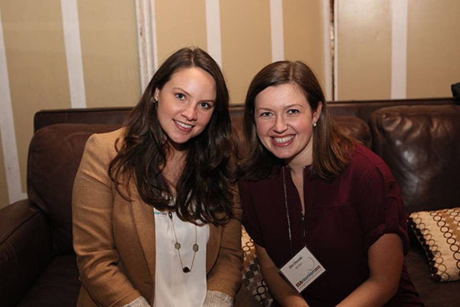 Alumni at the 2015 Reunion Social Workers Off the Clock Reception