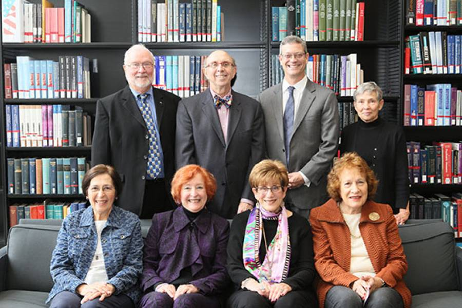 Class of 1965 with Dean Neil Guterman