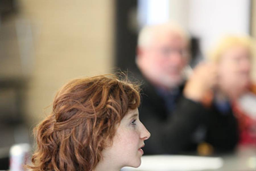 Audience member at the 2015 Reunion SSA Impact Talks