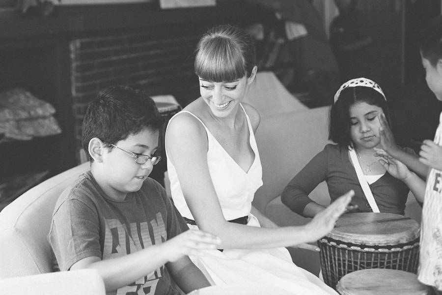 Valerie Guerra's music therapy project for refugee and immigrant children who had experienced trauma